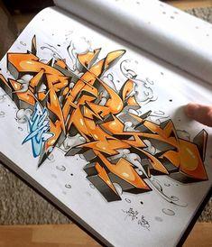 PHET - still kingsketch! Thx Mr.Phet. #raws #phet #graffiti #graff #graffitisketch #graffitiart #graffitiporn #instagraffiti #instagraff #grafflife #berlingraffiti #berlin #urbanart