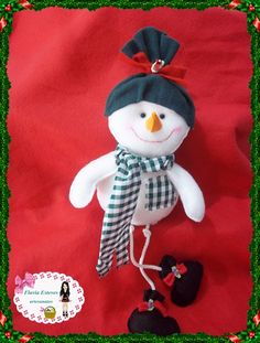olá galerinha vamos aprender hoje um tutorial do boneco de neve em feltro,espero que gostem ,curtam,compartilhem,se inscrevam, comentem e me sigam nas redes ...