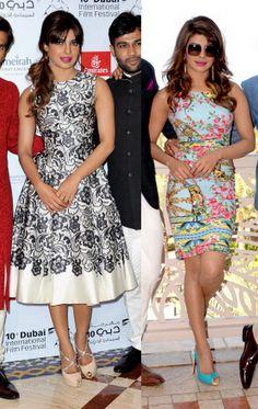 Fabulously Spotted: Priyanka Chopra Wearing Dolce & Gabbana - 2013 Dubai International Film Festival - http://www.becauseiamfabulous.com/2013/12/fabulously-spotted-priyanka-chopra-wearing-dolce-gabbana-2013-dubai-international-film-festival/