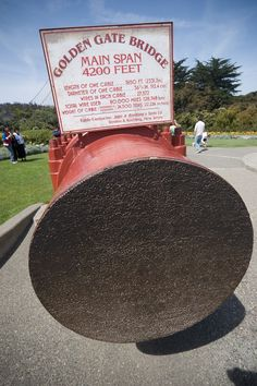One Golden gate bridge cable has 27572 wires running through it