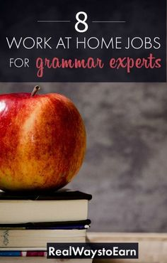 Are you a grammar expert? Here's a list of work at home jobs that would be ideal for your skills. Try proofreading, writing, transcription, and more! Work From Home Moms, Make Money From Home, Way To Make Money, Make Money Online, Money Today, Online Jobs, Along The Way, Extra Money, Extra Cash