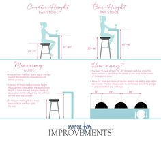 Gentil How To Choose The Right Bar Stool Height