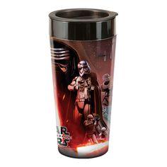 Star Wars The Force Awakens SWVII 16 oz. Surround Design Travel Mug Double Wall