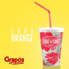 Erfrischende & spritzige Orangenlimo von unserem steirischen Getränkepartner Grapos. #graposspringcollection Fry S, Orange, Canning, The Originals, Drinks, Drinking, Beverages, Drink, Home Canning