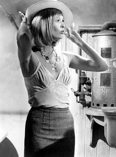 Faye Dunaway. Bonnie and Clyde.