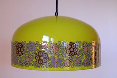 Finnish Finel lamp shade (Pattern Primavera) Nice, I've got two round ones in this patterne and colour Red Lamp Shade, Hanging Lamp Shade, Modern Lamp Shades, Ceiling Lamp Shades, Cool Lamps, Unique Lamps, Diy Balloon, Country Lamps, Lace Lamp