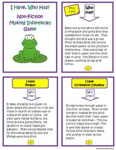 Worksheets Inferences Worksheets making inferences worksheet think about what you know and use inference nonfiction i have who has activities