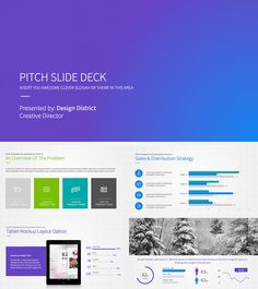 startup pitch powerpoint investor deck | slide deck ideas, Presentation templates