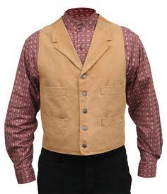 Wahmaker Canvas Trappers Vest - Brown