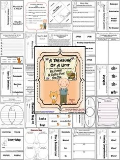 MR. PUTTER AND TABBY POUR THE TEA: A Treasure Of A Unit For 2nd Grade {Common Core Aligned} ~This Unit Is Aligned To The CCSS And EACH PAGE Has The Specific CCSS Listed~ This is a 97 page resource and activity packet. $