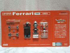 New Kyosho 1:64 scale MINI CAR KIT Ferrari 126C2 1982 Dydo from Japan