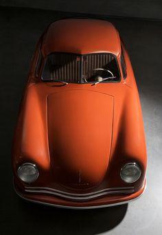 Porsche 356- Orange