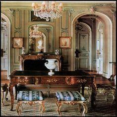 Barok foto overzicht kantoor meubels | Le Chique Wonen