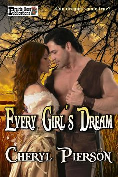 Shamed and forced to leave home, Sheena McTavish is surprised by the kindness of a stranger. Callen Chandler, a U.S. Army scout, is stricken with compassion for the green-eyed young woman. After Indians attack the stage Sheena is riding in, Cal and Sheena find themselves thrown together in a struggle for survival. http://www.amazon.com/Every-Girls-Dream-Cheryl-Pierson-ebook/dp/B00IIAAX2E/ref=sr_1_1?s=digital-text&ie=UTF8&qid=1394600839&sr=1-1&keywords=Every+Girl%27s+Dream