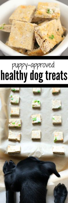 5-Ingredient, Puppy-Approved Healthy Dog Treats                                                                                                                                                                                 More
