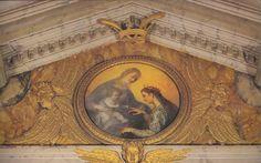 Ludovico Cardi detto   Cigoli Nozze mistiche di santa Caterina, Firenze, chiesa di Santa Caterina d'Alessandria a San Gaggio