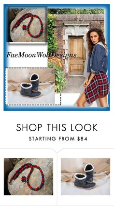 """FaeMoonWolfDesigns-7"" by nihada-niky ❤ liked on Polyvore featuring FaeMoonWolfDesigns"