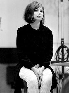 Barbra Streisand fotografiada por Gordon Parks, 1964