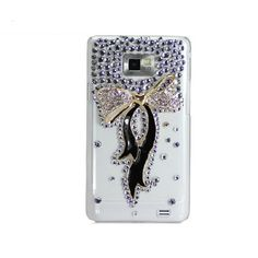 Handmade hard case for Samsung Galaxy S2 Bling by CheersCases, $19.99