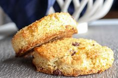 Apparently, it's chocolate week around here. Completely unintentional (or was it?). Despite the chocolate redundancy this week, I think these scones are DEFINITELY worth sharing with you righ…