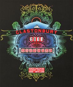 2011 Glastonbury poster is awesome