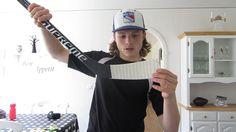 How I Tape my Hockey Stick Video!