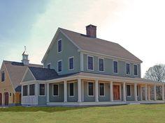 Love this farm house plan!
