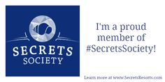 Do you love Secrets Resorts & Spas? Join our social media community the #SecretsSociety to earn points toward cool prizes like Secrets T-shirts, Amazon gift cards, credits toward spa treatments and even the grand prize, an all-expenses paid Secrets #vacation! http://secretsresorts.fancorps.com/signup