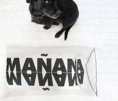 Mañana Cotton Pillowcase