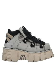Leather Logo Metal applications Two-tone Round toeline Wedge heel Leather lining Rubber sole Contains non-textile parts of animal origin Dr Shoes, Me Too Shoes, Shoes Sneakers, Sneakers Women, Funky Shoes, Cute Shoes, Botas Grunge, Cool Outfits, Fashion Outfits