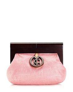 Gretchen Metallic Clutch - Juicy Couture - 128$