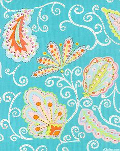 eQuilter Pretty Little Things - Madeline - Bahama Blue