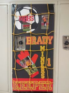 Locker decor Soccer