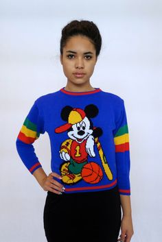 The Mickey Mouse Club Sweater by rerunvintage on Etsy, $87.00