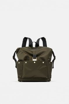f386bd424f ZARA - WOMAN - FABRIC BACKPACK Zara Women