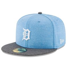Detroit Tigers New Era 2017 Father s Day 59FIFTY Fitted Hat - Heather Blue. Kansas  City RoyalsLos ... 8bbd3111ea9d