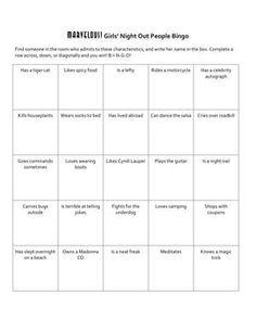 Free printable bingo cards activities pinterest bingo human 25 more ideas for your people bingo cards has a tiger cat ice breaker games maxwellsz
