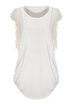 BG-impression® Short Sleeve Tassel T-shirt
