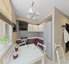 Дизайн кухни 7 кв.м – фото с идеями интерьера