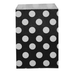 Dress My Cupcake 48-Pack  Black with White Dots, Black with White Dots by Dress My Cupcake. $26.60. Favor bags are perfect for weddings, birthdays, baby showers, candy buffets and more A great way to add flare to your event. Favor Bags are biodegradable - Perfect for the event planner. Pair this with other best-selling Dress My Cupcake products, such as cupcake wrappers and liners, stands, tissue pom poms, and vintage paper straws. Distributed by Dress My Cupcake, the wor...