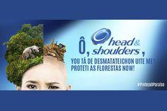 Greenpeace se inspira em campanha da Head & Shoulders p/ denunciar P&G - Blue Bus