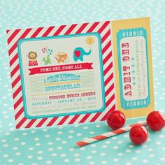 circus 1st birthday | Tag Archive for circus-party : Anders Ruff Custom Designs