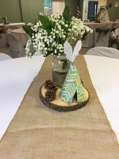Woodland Adventure Baby Shower Party Ideas   Photo 2 of 27