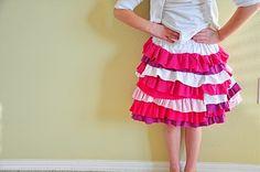 $5 Friday---A Valentine Skirt