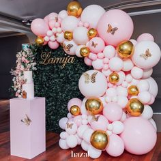 Lamija's enchanted garden 1st Birthday Loved working with her wonderful mum @samrasabitovic All props and styling@luxecoutureevents… 1st Birthday Party For Girls, 21st Birthday Decorations, Birthday Party Themes, Pink Party Themes, Birthday Ideas, Happy Birthday, Butterfly Birthday Party, Butterfly Baby Shower, Baby Girl Shower Themes