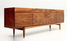 sideboard 66 rosewood Kofod Larsen Faarup 50s mcmdaily