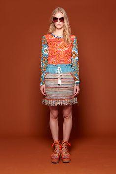 Tory Burch Resort 2012 Fashion Show
