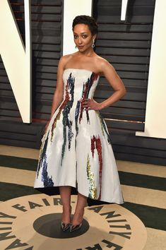 Ruth Negga in Oscar de la Renta - Every Look from the 2017 Oscars After-Parties You Can't Miss - Photos