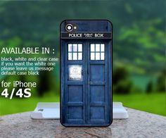 AJ 287 Tardis Doctor Who 4- iPhone 4/4s Case | BestCover - Accessories on ArtFire