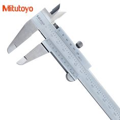 "Original Mitutoyo Vernier Caliper 530-312 6"" 0-150mm/0.02 Stainless Steel Gauge Micrometer Measuring Tools #Affiliate"
